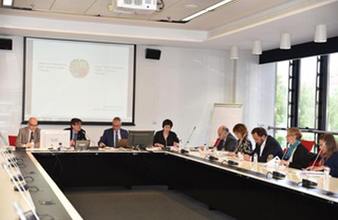 Reuni&oacute;n para aprobar el informe del proyecto del Reglamento de Espect&aacute;culos P&uacute;blicos y Actividades Recreativas de Euskadi<br />
