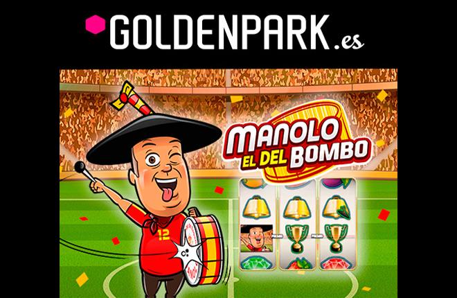 Manolo &ldquo;el del Bombo&rdquo; se convierte en un personaje de slots online en Goldenpark.es <br />