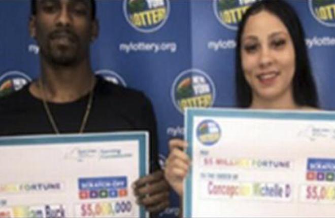 Compra loter&iacute;a para cambiar un billete de 100 d&oacute;lares y gana un premio gordo<br />
