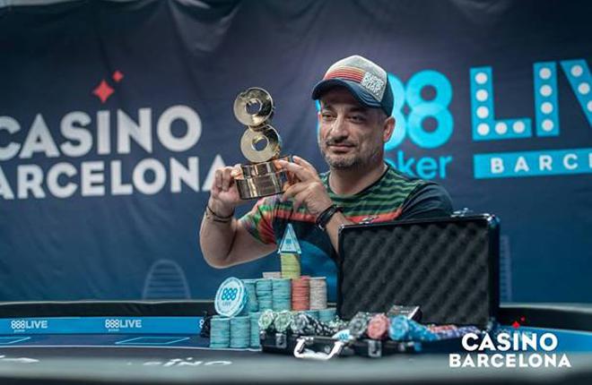 Adrian Costin Constantin, campe&oacute;n del Main Event del 888poker LIVE Barcelona<br />