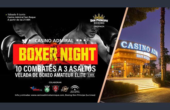 Veinte de los mejores p&uacute;giles competir&aacute;n en una gala &uacute;nica en el Casino Admiral San Roque <br />