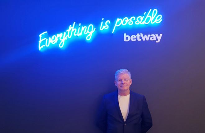 Roger Parkes será nombrado miembro del consejo de Betway Limited
