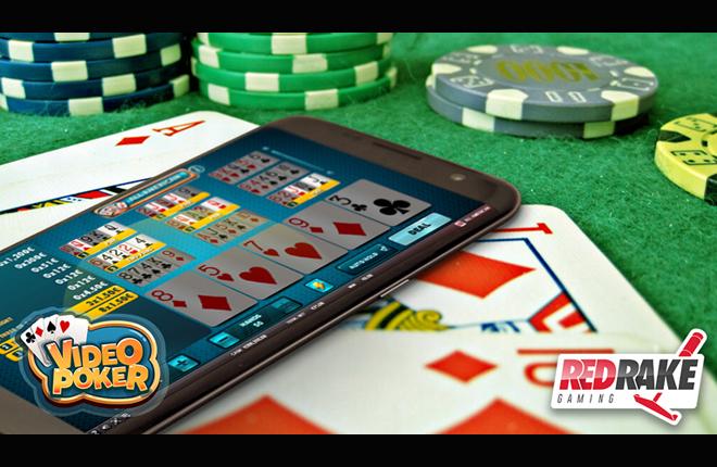 Nuevo lanzamiento de Red Rake Gaming con su esperado juego del Video P&oacute;ker<br />