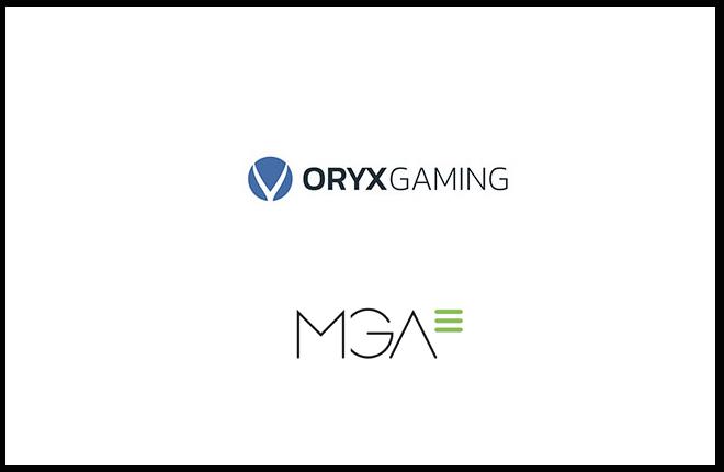 ORYX Gaming añade los contenidos de MGA a su plataforma