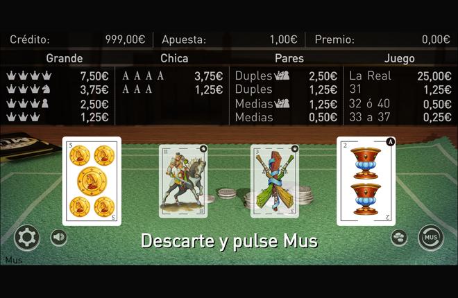 Wanabet lanza en primicia el juego del mus<br />