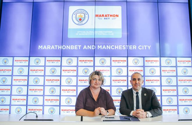 Marathonbet con el equipo de Pep Guardiola<br />
