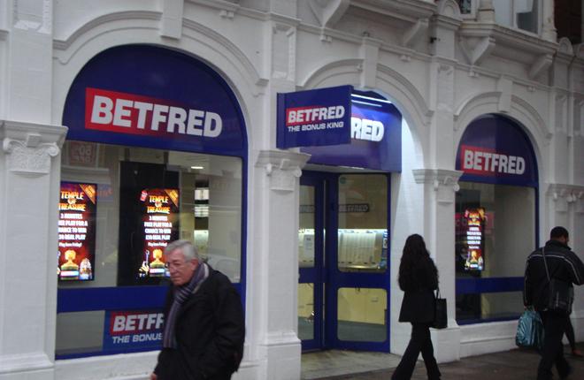 250 terminales de apuestas de Playtech en las tiendas de Betfred