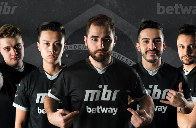Betway ser&aacute; patrocinador de la marca de eSports MIBR<br />