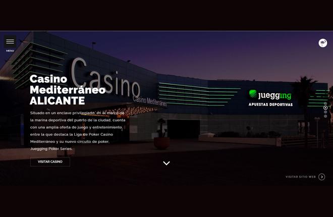Casino Mediterr&aacute;neo lanza su nueva web con venta online de entradas de torneos<br />