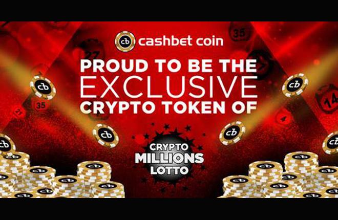 Los usuarios de CashBet podr&aacute;n jugar a la loter&iacute;a de CryptoMillions<br />
