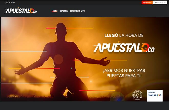 Apuestalo, nueva web de juego en Colombia<br />