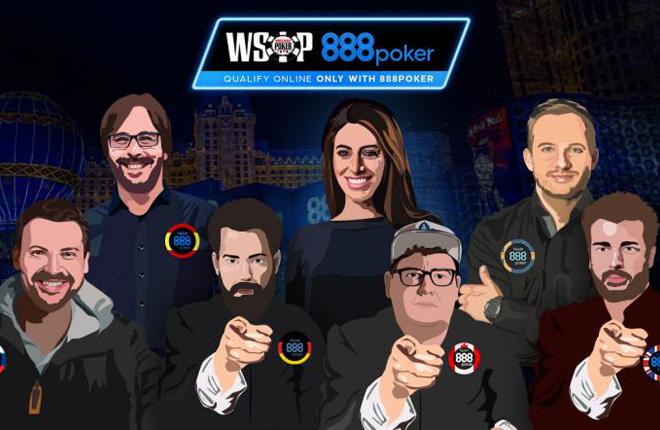 888poker crea el reto #the8team en las WSOP de Las Vegas&nbsp; <br />