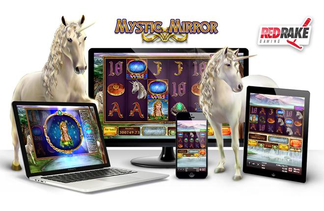 Red Rake Gaming acerca a sus jugadores un mundo de magia y fantas&iacute;a a trav&eacute;s de su nueva video slot Mystic Mirror<br />