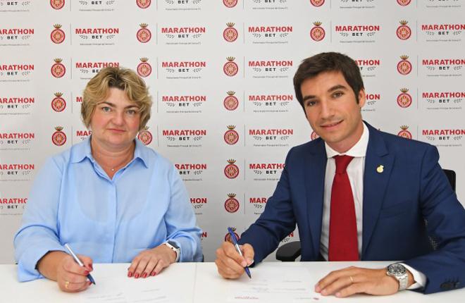 Marathonbet ser&aacute; el patrocinador principal del Girona FC<br />
