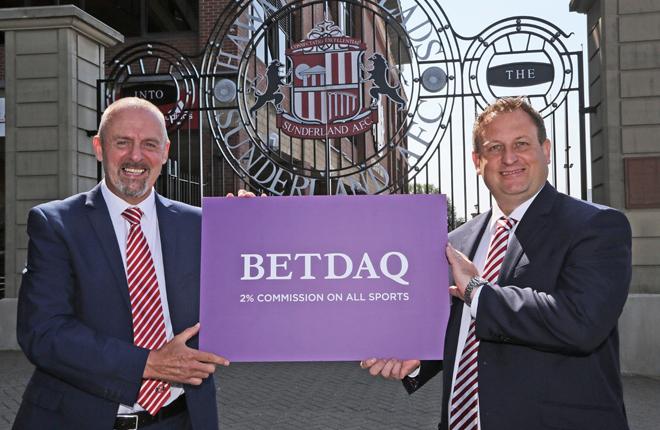 Betdaq patrocinará al Sunderland AFC