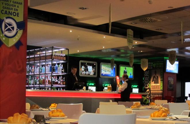 ElTenedor incluye al Bingo Canoe en su listado de restaurantes de Madrid para disfrutar del Mundial<br />