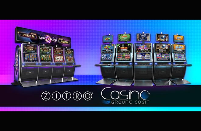 Mascot anuncia la llegada de las m&aacute;quinas de juego Zitro a los casinos del Grupo Cogit <br />