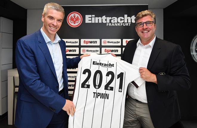 Tipwin se convierte en Socio Premium del Eintracht Frankfurt<br />