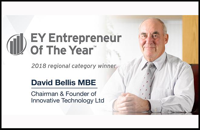 David Bellis, de ITL, gana el premio a emprendedor del a&ntilde;o<br />