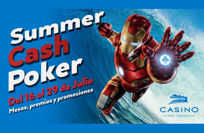 All in al Poker Cash de Casino Cirsa Valencia