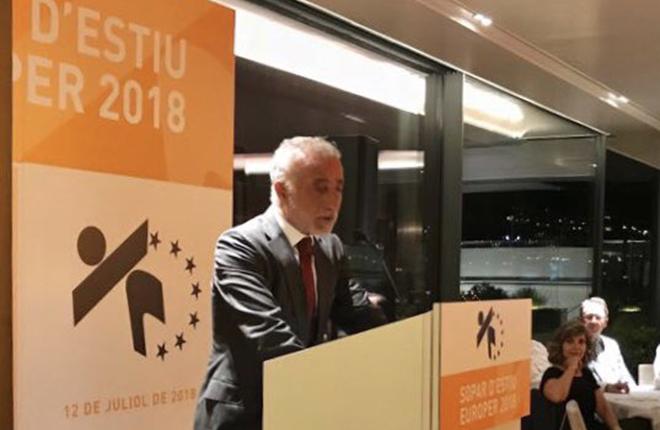 Albert Sola (Europer) pide un nuevo reglamento de m&aacute;quinas en Catalu&ntilde;a<br />