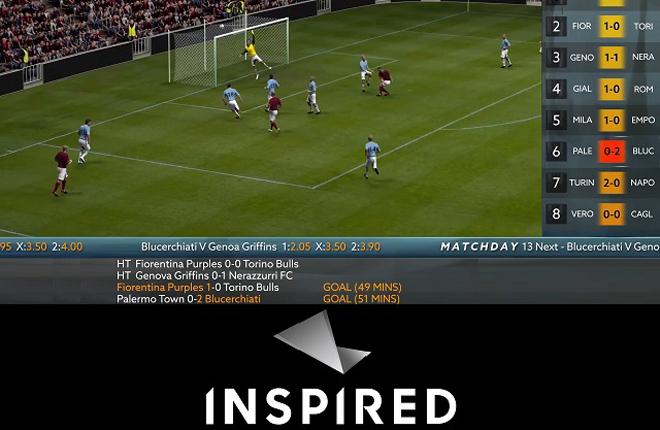 Inspired lanza el contenido Virtual Football Matchday con Sisal<br />