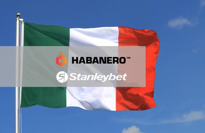 Habanero firma un acuerdo con Stanleybet en Italia<br />