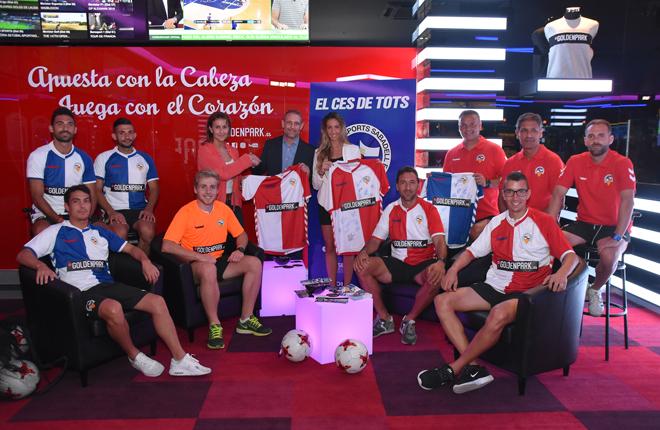 Goldenpark.es renueva como patrocinador del CE Sabadell FC por segundo a&ntilde;o consecutivo<br />