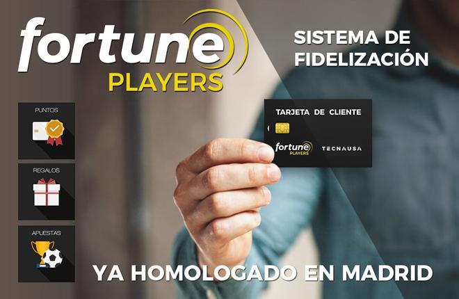 Homologaci&oacute;n de Fortune Players en Madrid<br />