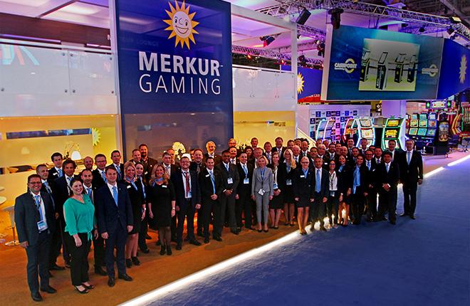 Merkur Gaming preparada para la feria de Las Vegas