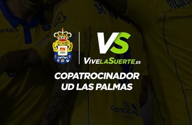 VivelaSuerte.es renueva como Copatrocinador Oficial de la UD Las Palmas<br />