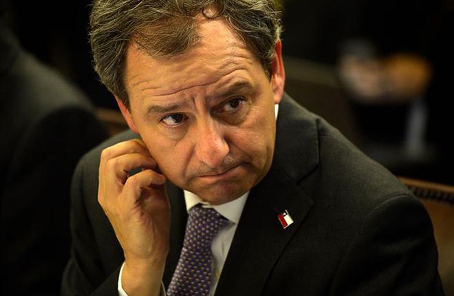 Ministro Varela a Bachelet: &ldquo;Ojal&aacute; tengamos m&aacute;s Estados y m&aacute;s bingos&rdquo;<br />