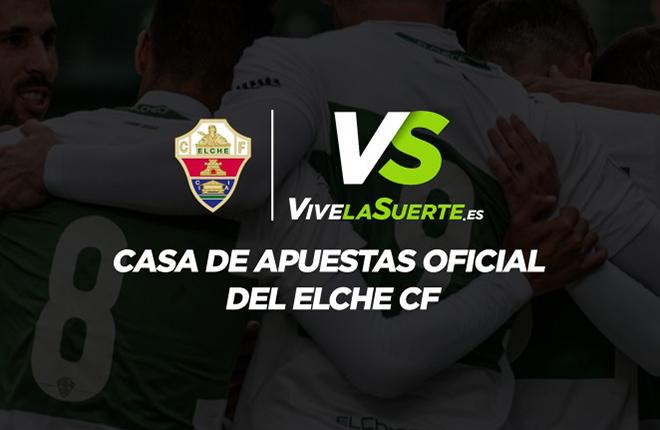 VivelaSuerte.es, casa de apuestas oficial del Elche C.F<br />