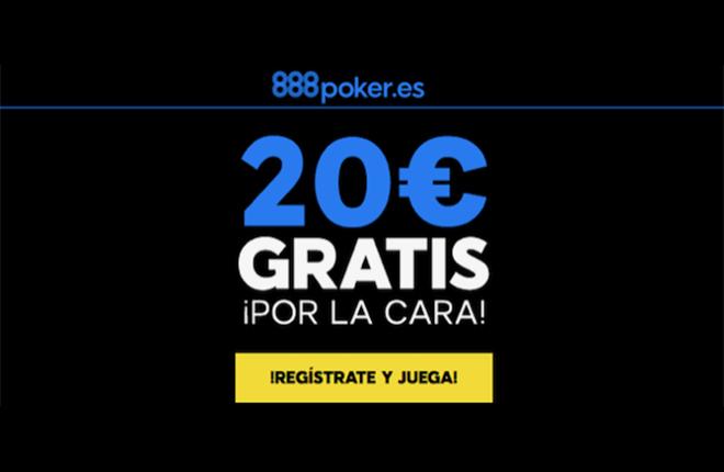 888poker ofrece 20&euro; gratis a sus nuevos jugadores&nbsp;&nbsp; <br />