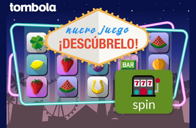 Tombola.es lanza su primer juego de slots, spin, un torbellino de diversión