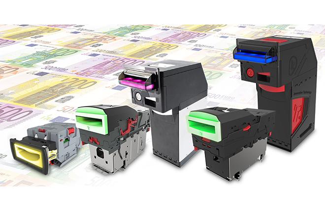 El Banco Central Europeo aprueba la gama de validadores NV de ITL<br />