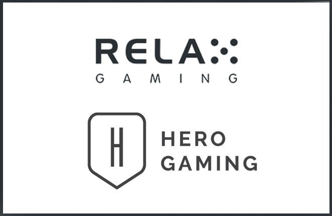 Nuevo acuerdo de Relax Gaming y Hero Gaming <br />