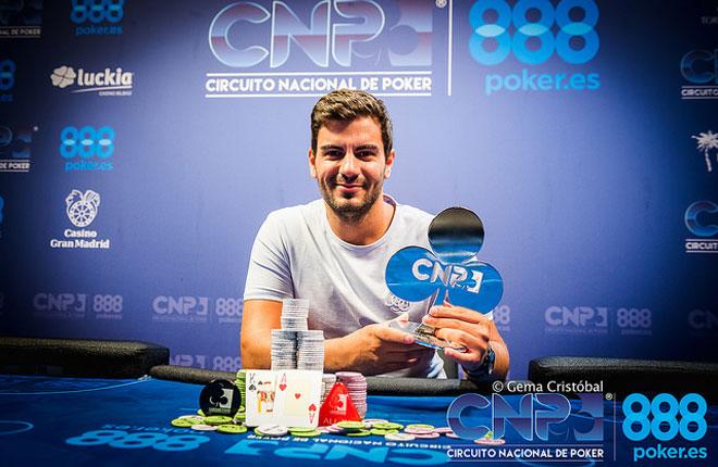 Adrián García gana el CNP888 Alicante 2018