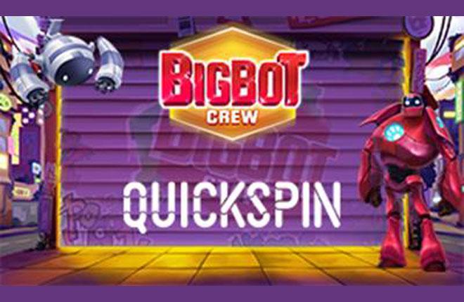 Quickspin avanza en innovaci&oacute;n con Big Bot Crew<br />