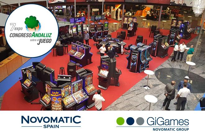 Novomatic-Gigames estar&aacute; presente en el&nbsp; 7&ordm; Expo Congreso andaluz sobre el juego<br />