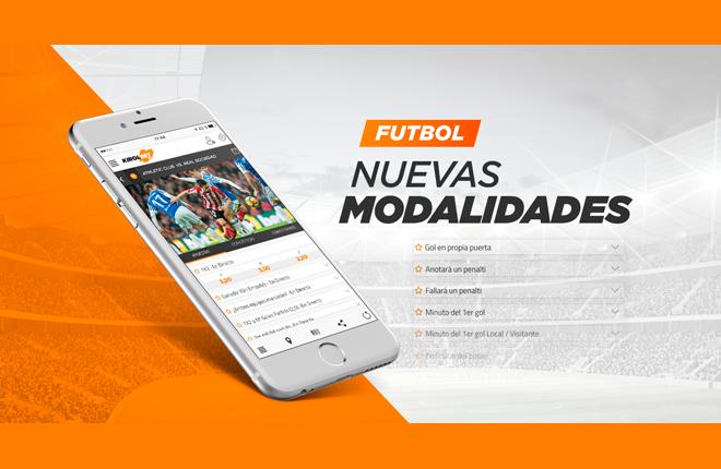 Nuevas modalidades de fútbol en Kirolbet