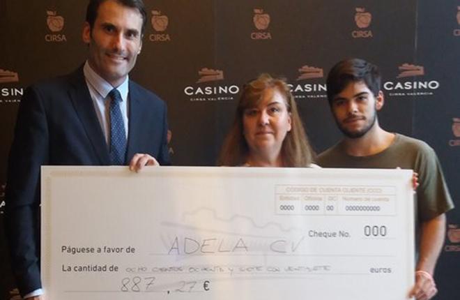 La cara m&aacute;s solidaria del Casino Cirsa Valencia<br />