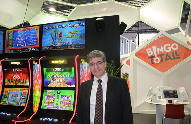 &ldquo;Seguiremos potenciando nuestros productos estrella: videobingos y bingo electr&oacute;nico&rdquo;<br />