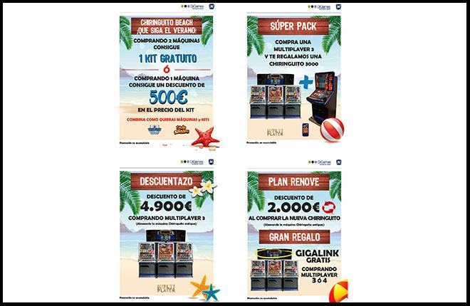 GiGames lanza el kit de Chiringuito Beach<br />