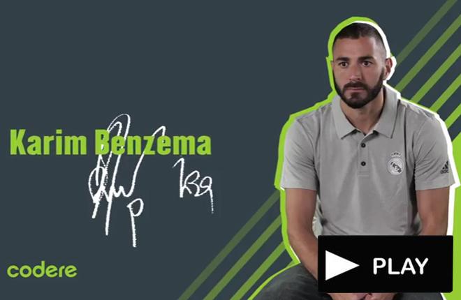 Benzema se somete a la entrevista y test Codere antes del inicio de la Champions<br />