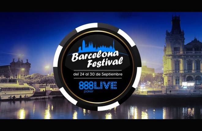 La pr&oacute;xima semana comienza el 888Live Barcelona Festival <br />