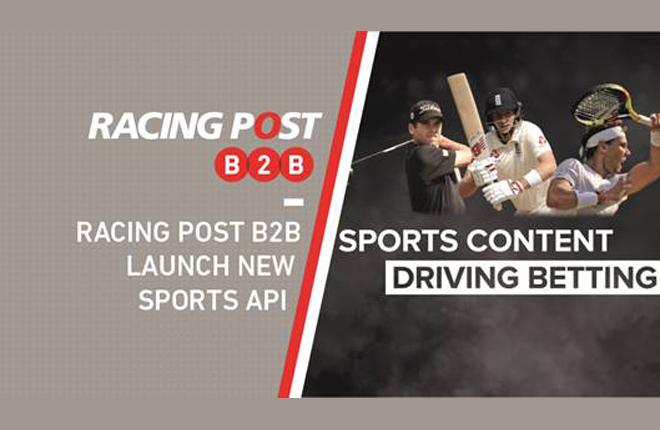 Racing Post B2B lanza su nueva Sports API<br />