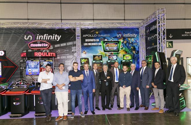 Infinity Gaming sigue creciendo en Andaluc&iacute;a con su ruleta de doble cilindro y el nuevo blackjack<br />