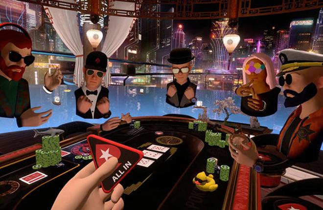 Pokerstars lanza una app para jugar al No-Limit Holdem en Realidad Virtual<br />