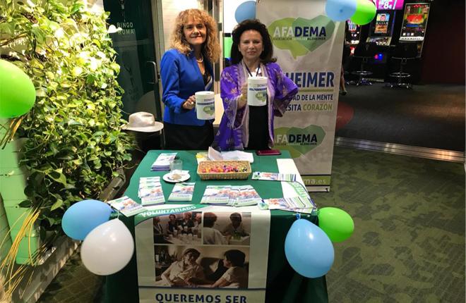 Bingo Roma y AFADEMA, labor solidaria por el D&iacute;a Mundial del Alzh&eacute;imer<br />